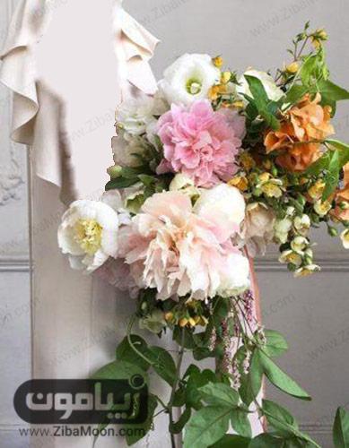 دسته گل با گل های بسیار بزرگ
