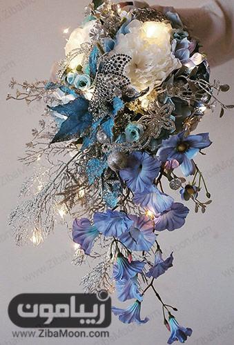 دسته گل عروس به سبک مدرن