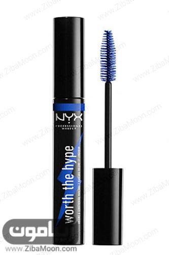 ریمل آبیNYX Professional Makeup Worth The Hype Colored