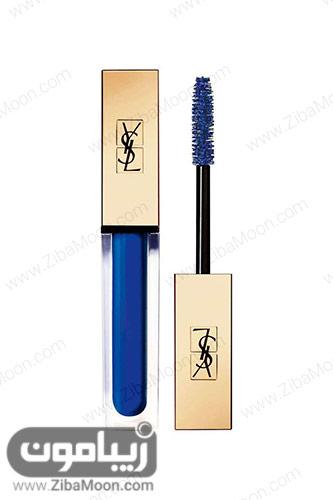 ریمل آبی روشن YSL Mascara Vinyl Couture