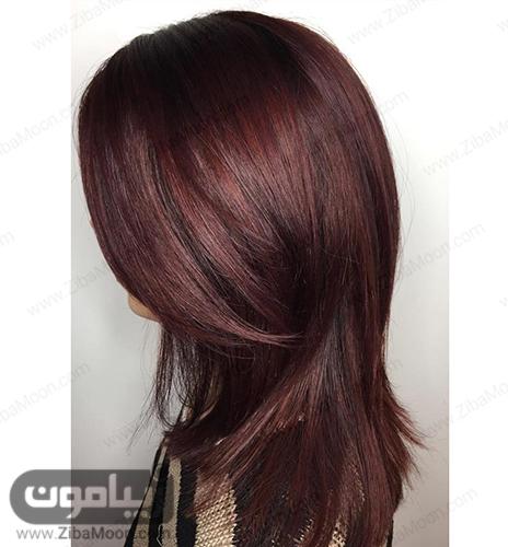 رنگ موی ماهگونی با تن سرد