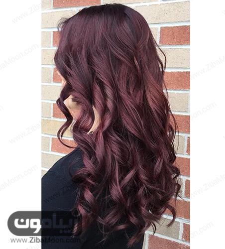 رنگ موی ماهگونی