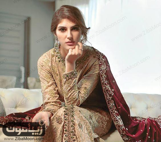 ناز نوروزی با لباس هندی