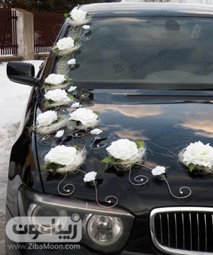 ماشین عروس خاص و متفاوت