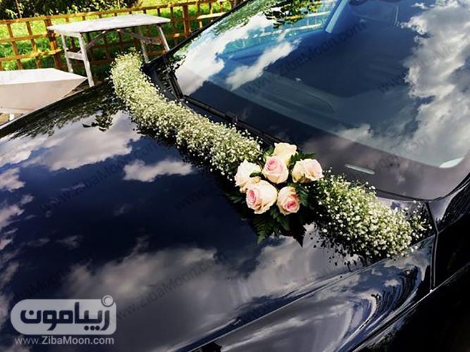 ماشین عروس ساده و شیک