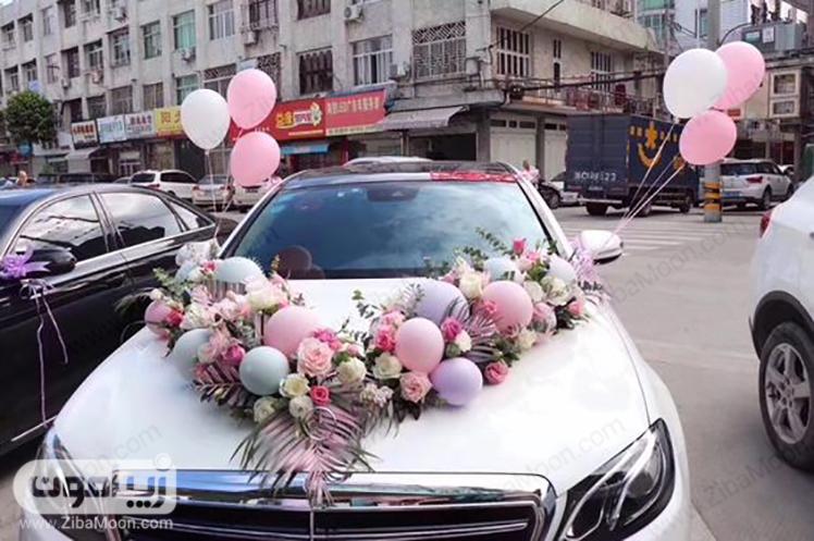 ماشین عروس مدرن و شیک
