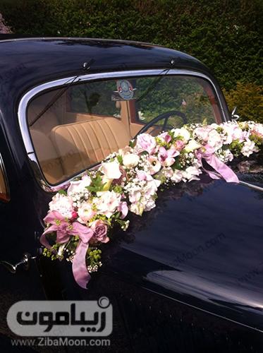 مدل ماشین عروس با ماشین قدیمی