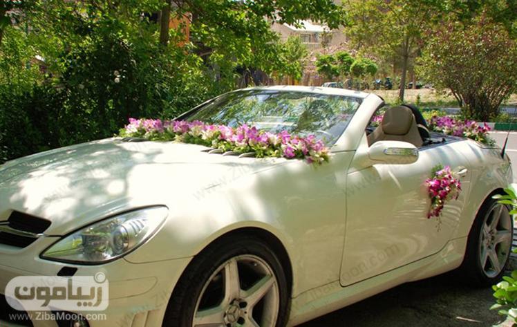 مدل ماشین عروس جدید و شیک