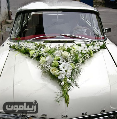 مدل ماشین عروس کلاسیک