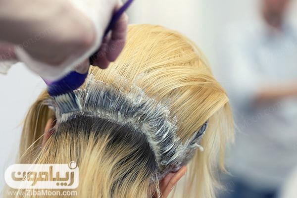 رنگساژ کردن مو