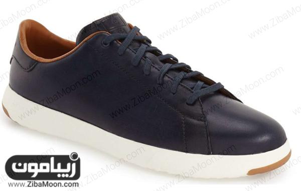 کفش اسپرت مردانه با زیره سفید