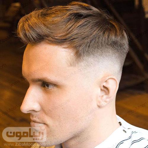 مدل مو فید شده خاص و جدید مردانه