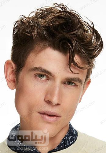 مدل مو موج دار پسرانه