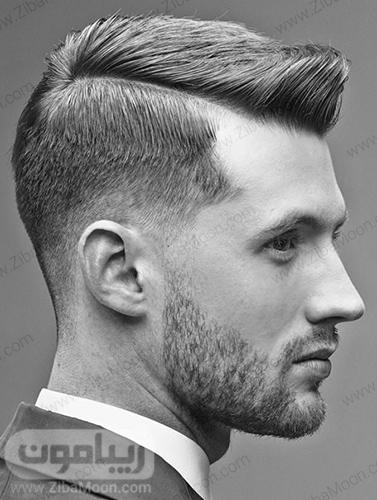 مدل مو یکطرفه و مرتب مردانه
