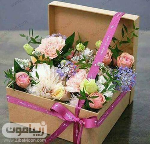 باکس گل شیک برای خواستگاری