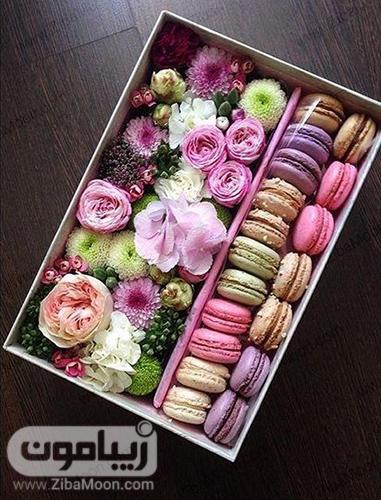 جعبه گل و شیرینی جدید و خاص برای خواستگاری