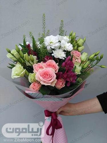 مدل دسته گل طبیعی و خاص برای خواستگاری