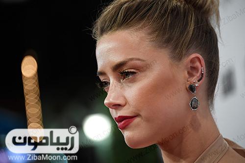 عکس نیم رخ امبر هرد