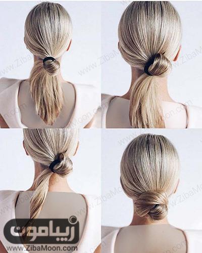 عکس مدل مو خیلی ساده