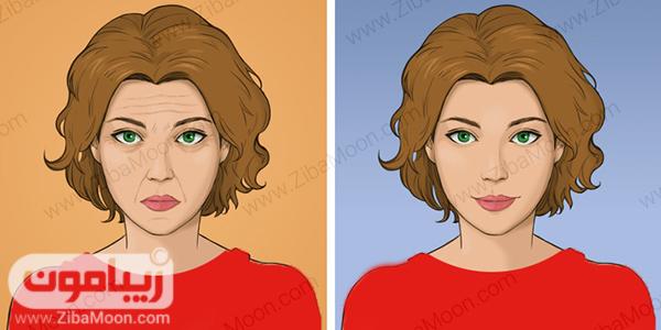 قبل و بعد از ماساژ ژاپنی
