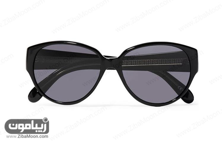 عینک آفتابی با فریم مشکی