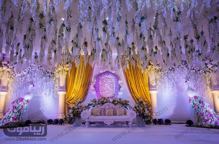 تالار لوکس و باشکوه عروسی