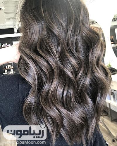 رنگ مو شکلاتی تیره