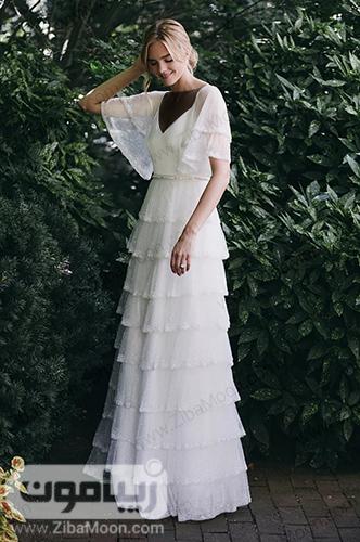لباس عروس حریری و زیبا برای فرمالیته