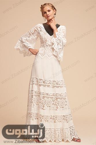 لباس عروس گیپوری مناسب برای فرمالیته