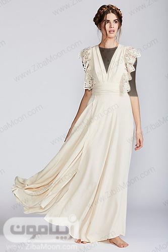 لباس فرمالیته با آستین گیپوری