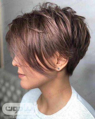 مدل مو کوتاه و شیک زنانه
