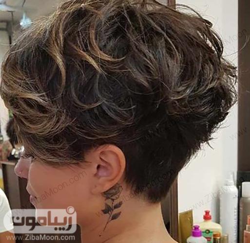 مدل مو کوپ لیزری برای موهای موج دار