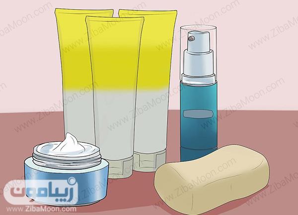 محصولات پاک کننده پوست