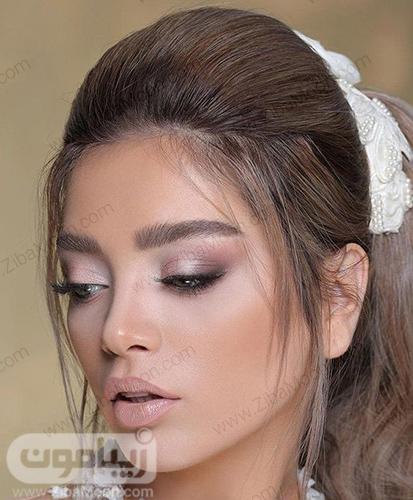 مدل آرایش عروس اروپایی شیک و خاص