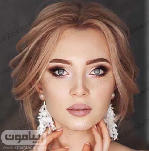 مدل میکاپ عروس اروپایی زیبا و خاص
