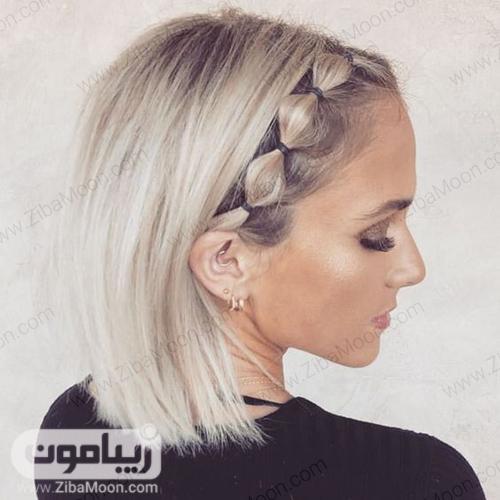 مدل مو زیبا برای موهای کوتاه