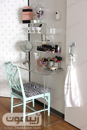 مدل میز آرایش ساده و خلاقانه