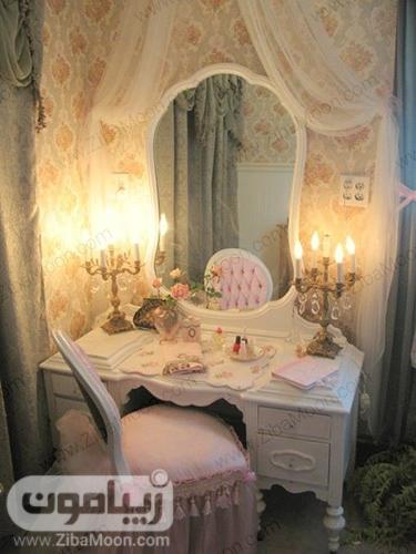 میز ارایش دخترانه فانتزی