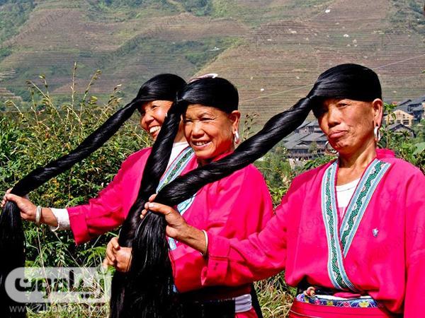 مو بلند و پرپشت زنان چین