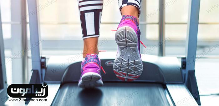 ورزش کردن با تردمیل
