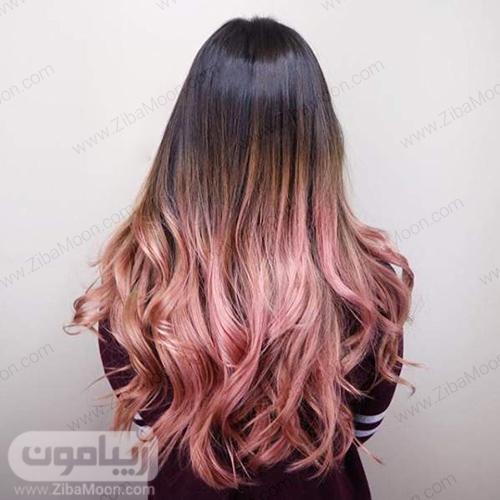 رنگ مو جذاب و خاص