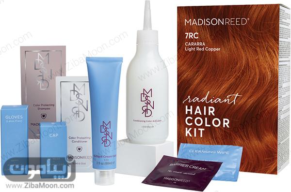 وسایل مورد نیاز برای رنگ کردن مو