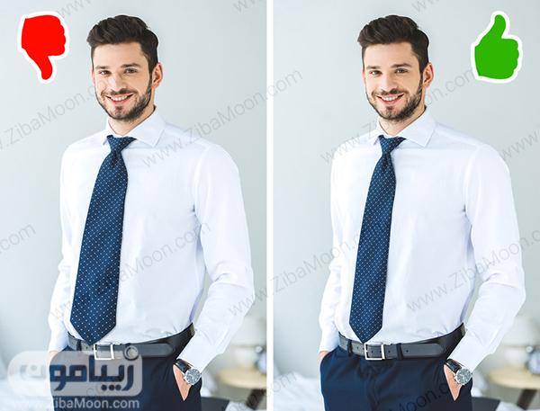 اندازه کراوات