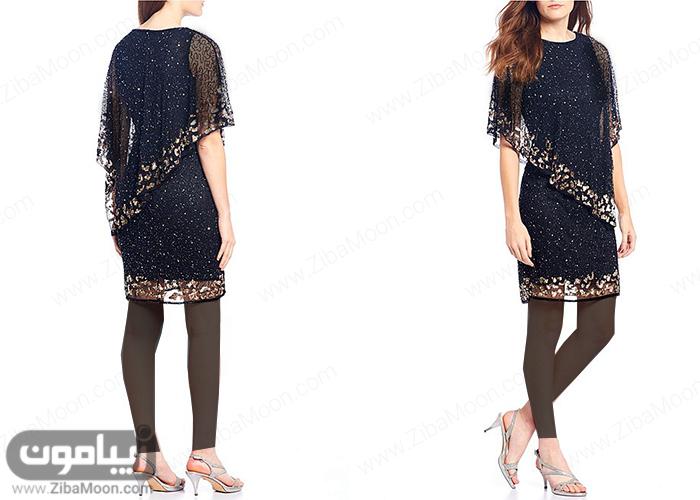 مدل لباس مجلسی کوتاه با طراحی شیک و جدید