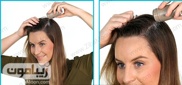 استفاده از پودر حالت دهنده مو