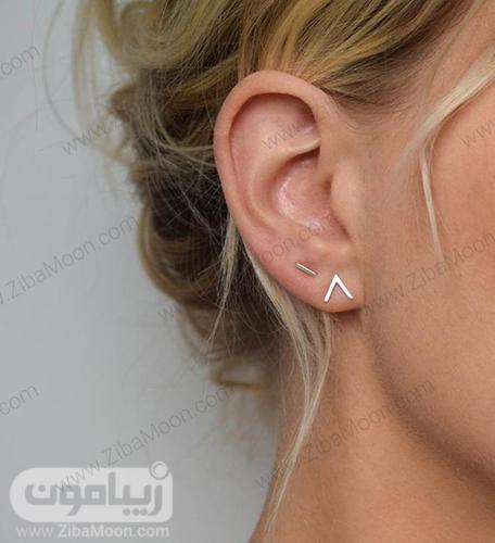 مدل گوشواره مینیمال