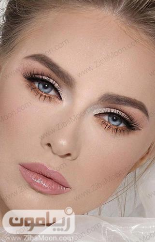 مدل آرایش صورت لایت و ملایم