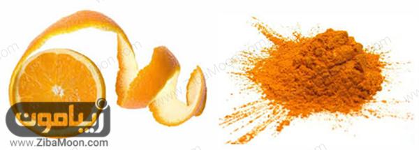 پوست پرتقال پودر شده
