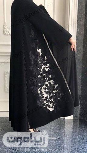 مدل مانتو مجلسی گیپوری و شیک برای محرم