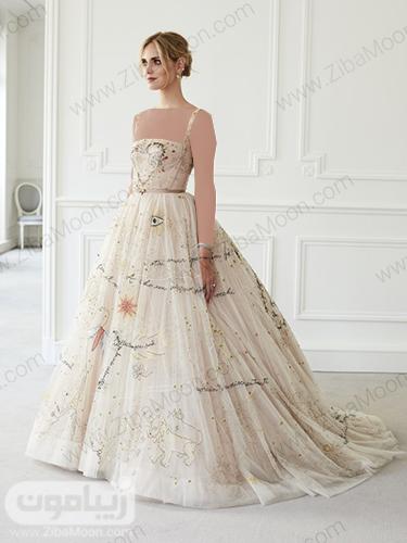 دومین لباس عروس کیارا فرانی